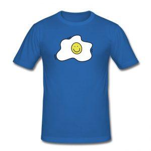 T-shirt met illustratie van een gebakken ei